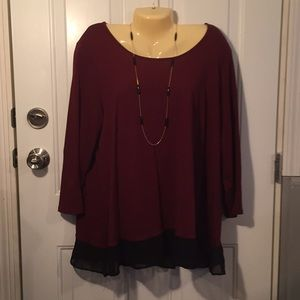 CATO BLOUSE SIZE 18/20 new w/o tags